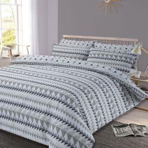 Rewind Duvet Cover Set - Grey