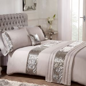 Sienna Home Mermaid Sequin Bed in a Bag - Mink