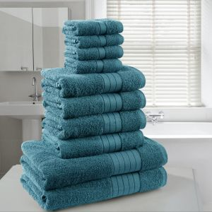 Brentfords Towel Bale 10 Piece - Teal
