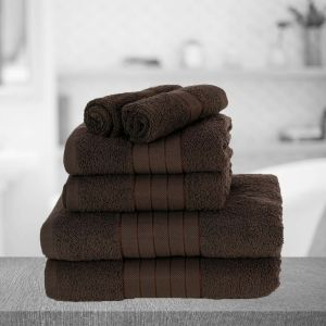 Dreamscene Towel Bale 6 Piece - Chocolate