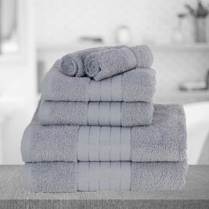 Dreamscene Towel Bale 6 Piece - Silver