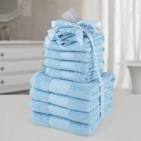 Dreamscene Towel Bale 12 Piece - Aqua