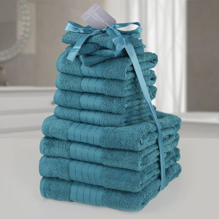 Brentfords Towel Bale 12 Piece - Teal