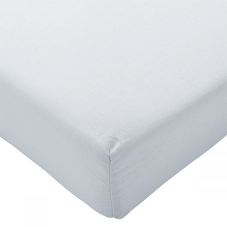 Highams Easy Care Polycotton Fitted Sheet - White