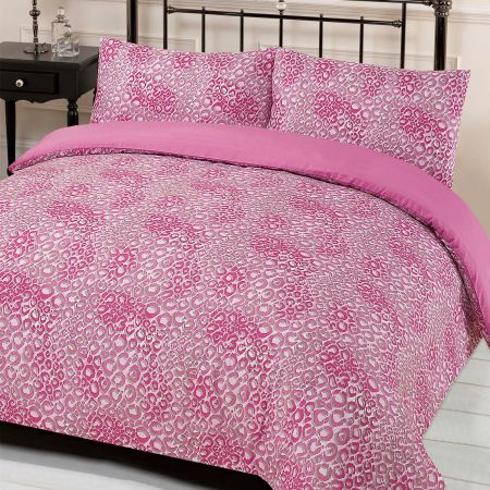 Jengo Duvet Cover Set - Pink