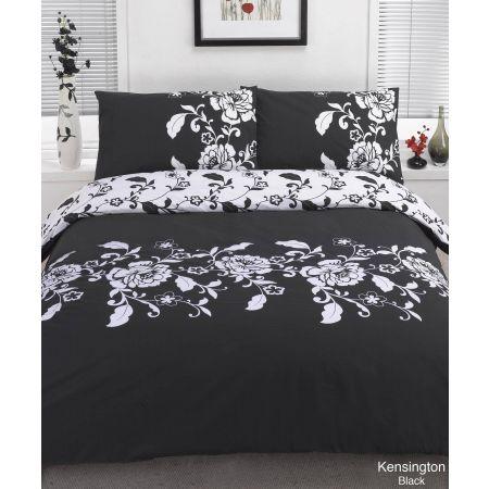 Kensington Duvet Cover Set - Black