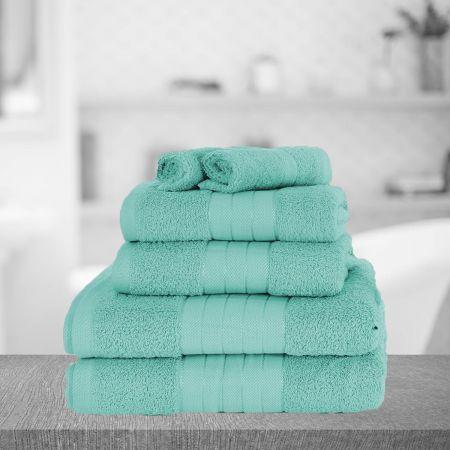 Dreamscene Towel Bale 6 Piece - Aqua
