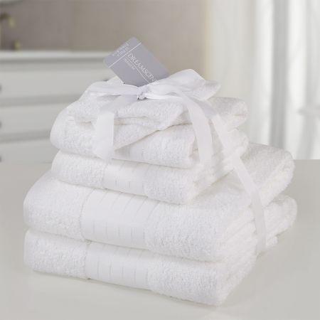 Dreamscene Towel Bale 6 Piece - White