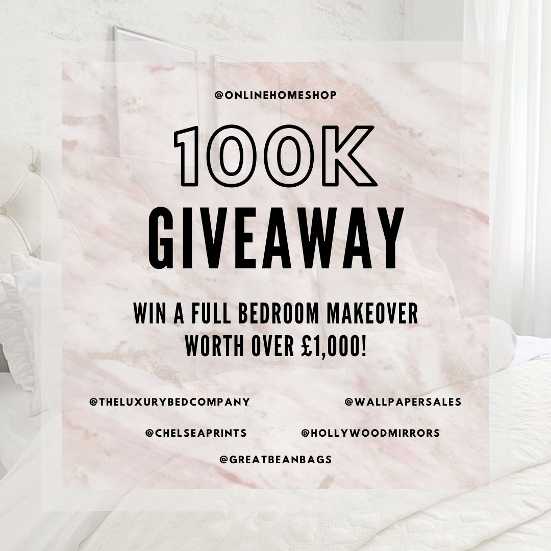 WIN a Full Bedroom Makeover Worth Over £1,000 (UK)